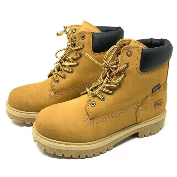 be094141df3 Timberland PRO Direct Attach 6″ Wheat Soft Toe NWT